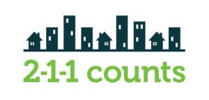2-1-1 Counts Logo