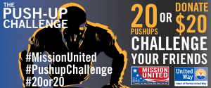 Pushup Challenge_Mission United Banner