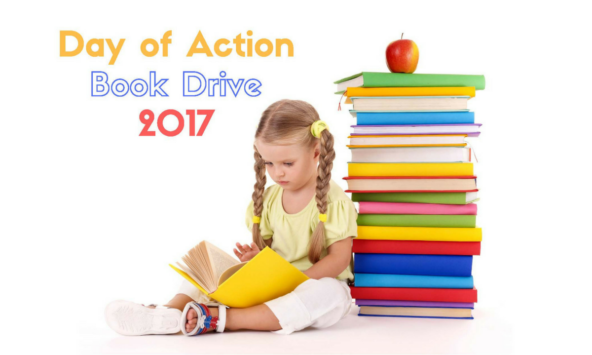 Day of Action 2017 Book Drive
