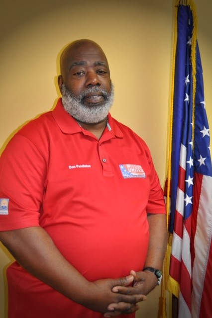Don Pendleton, Mission United Case Manager.